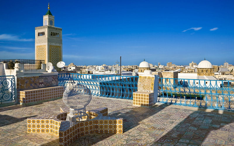 Medina, Tunus