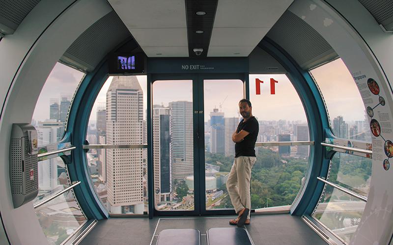singapur dönme dolap
