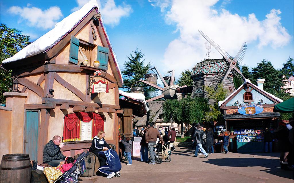 Fanstasyland, Disneyland Paris