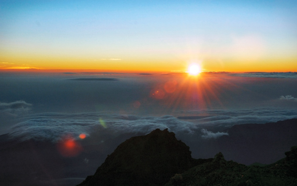 Mount Rinjani Sunrise