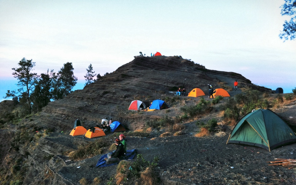 Mount Rinjani Camping