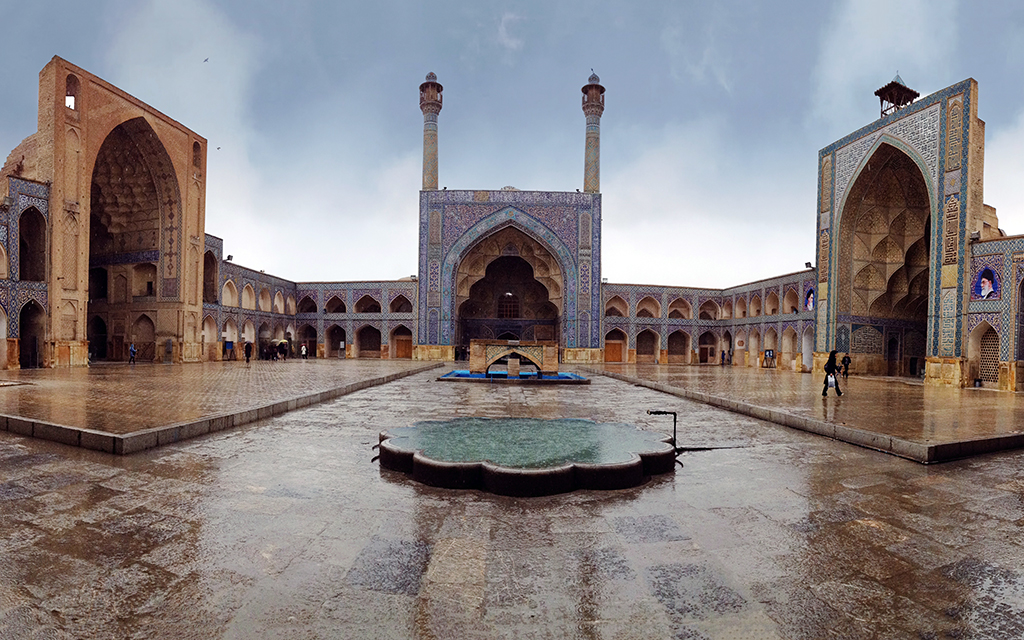 cuma camii, isfahan