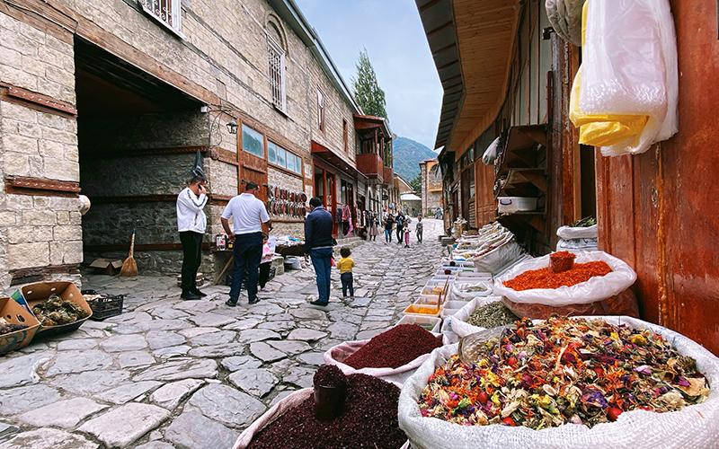 Azerbaycan Lahıç Köyü